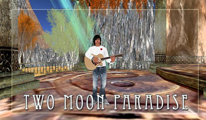 Max Kleene plays Two Moon Paradise on Saturdays at 5 PM SLT