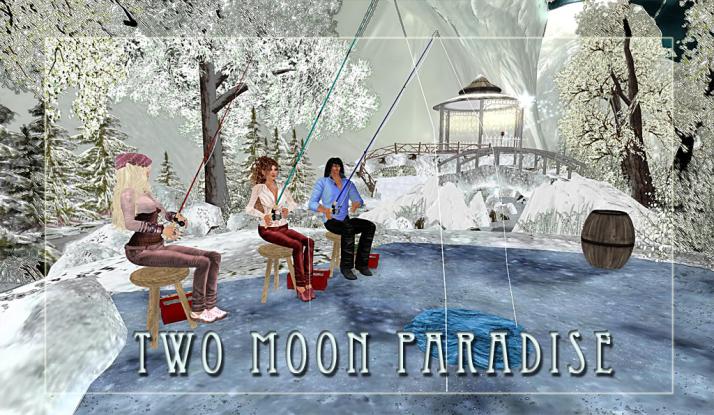 Ice Fishing Fridays at Two Moon Paradise Winter Wonderland