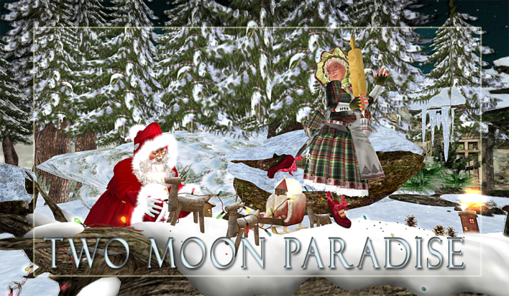 Santa has lots of music this week with Farr doing a Christmas Show at 11 AM SLT on Monday,through Thursday  and gifts at Pelican Beach under the tree