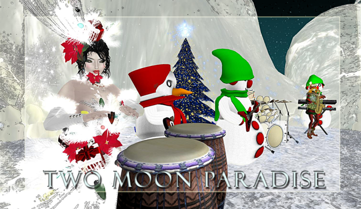 Farr and The Robots plus The Funky Feats Tuesday at 5 PM SLT Two Moon Paradise