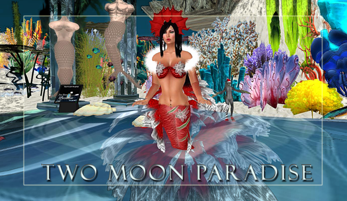 Two Moon Paradise Mer Events on Tuesdays and Wednesdays in the Mer Garden