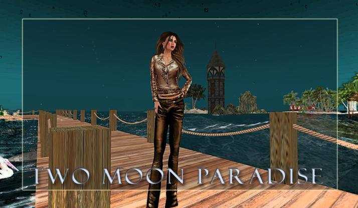 Fridays at Two Moon Paradise ~ relaxing around the beach or out on the pier