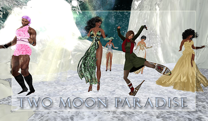 Join CeCi Dover and Lisa Brune on Mondays at Two Moon Paradise starting at 2 PM SLT