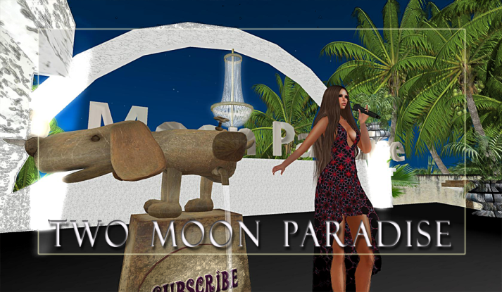 Lisa Brune and Mark Allan Jensen Mondays at Two Moon Paradise starting at 3 PM SLT