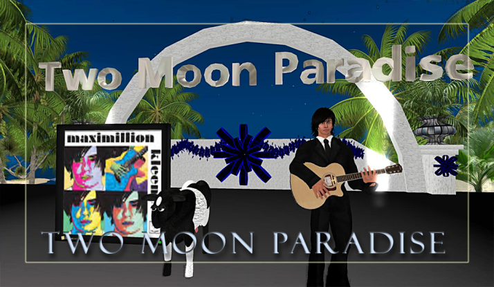 Max Kleene at Two Moon Paradise on Saturdays ... join us.. we love our Max!