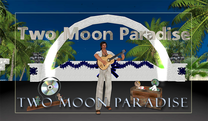 Sunday at Two Moon Paradise with Farr from noon until 2 and Voodoo Shilton at 4 PM SLT this week