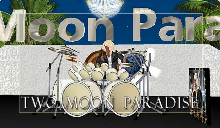 Farrokh Vavoom Noon until 2 PM SLT and Voodoo Shilton at Two Moon Paradise