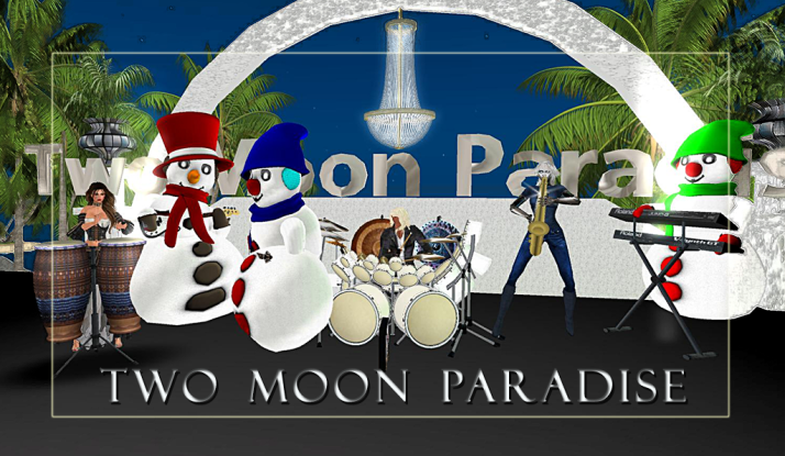 Join Farr, the Robot and Kellie and The Funky Feats Tuesday at Two Moon Paradise
