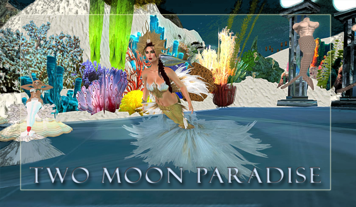 Join us on Tuesdays for a Mer Dance at Two Moon Paradise