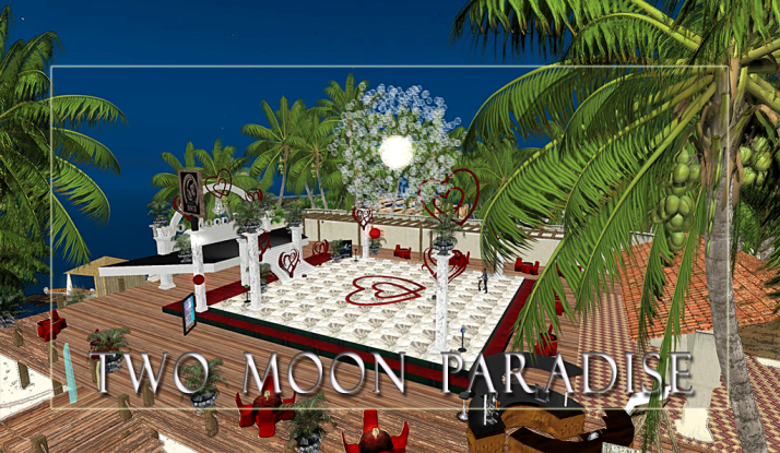 Happy Valentine Day come find Romance and Relaxation at Two Moon Paradise open 24/7