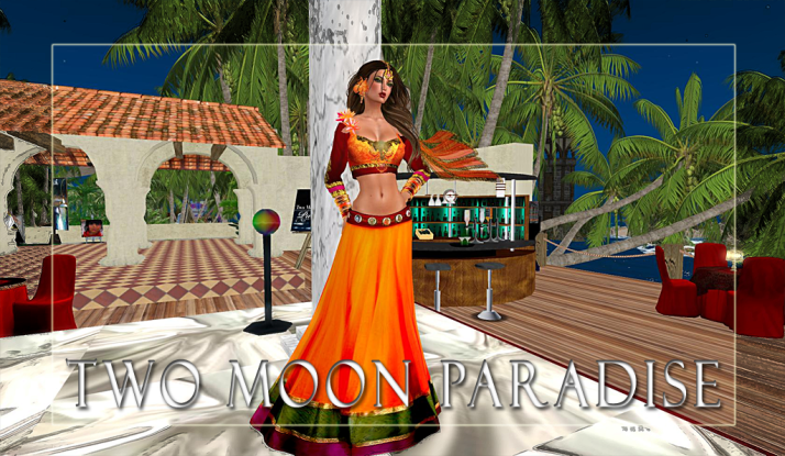 Join Shiran Sabra and The Two Moon Paradise Family for events held daily