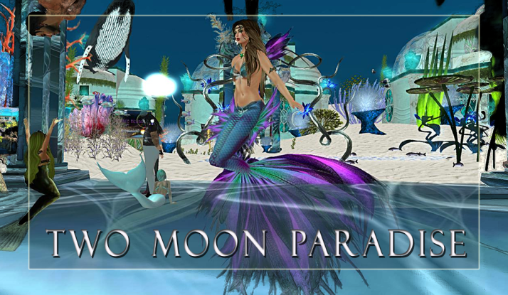 The Mer Garden Venue at Two Moon Paradise is open 24/7 for dancing in a beautiful under sea setting
