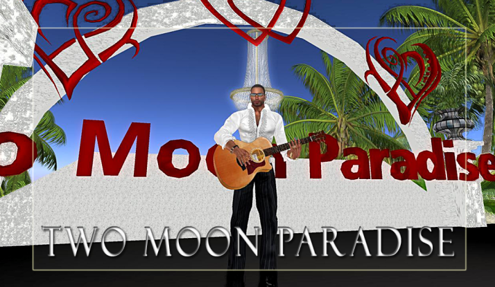 Lisa Brune then Mark Allan Jensen Mondays at Two Moon Paradise