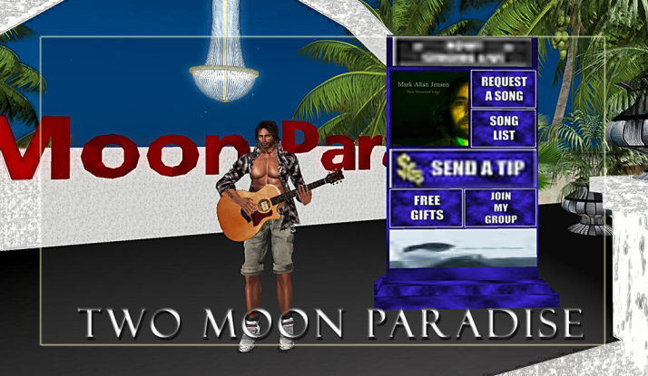 Mark Allan Jensen at Two Moon Paradise Mondays