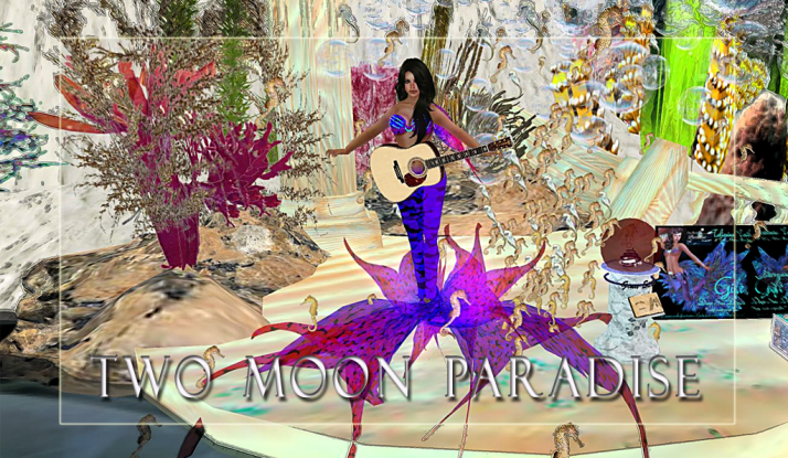 Gina Stella in The Mer Garden at Two Moon Paradise on Tuesdays