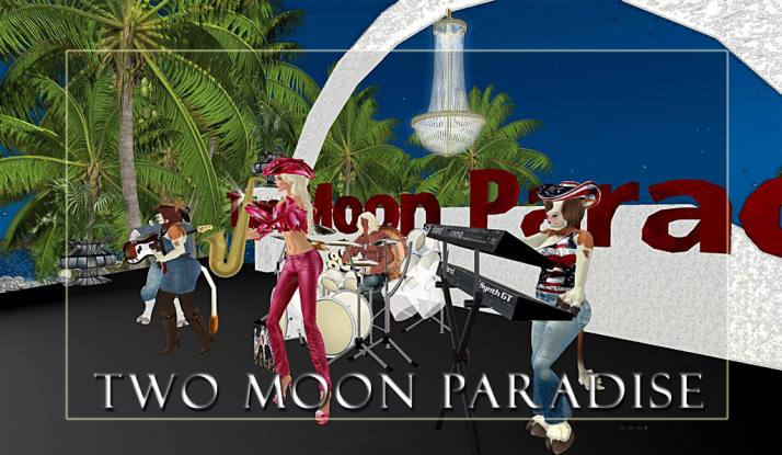 Farrokh Vavoom and The Robots plus thje Funky Feats right after Gina Stella at Two Moon Paradise