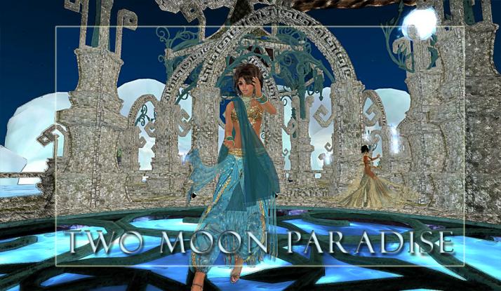 Shanti Rasa doing her Tai-Chi sets at Two Moon Paradise