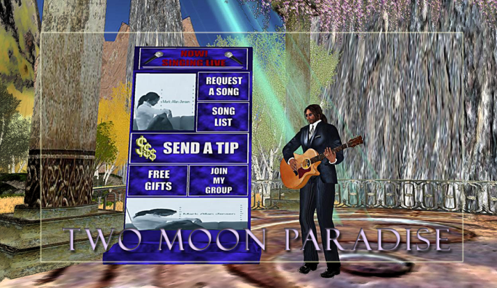 Mark Allan Jensen and Edward Kyomoon/Donn Devore Mondays at Two Moon Paradise