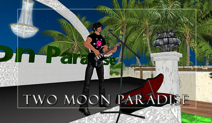 Mark Allan Jensen and Donn Devore on Mondays at Two Moon Paradise