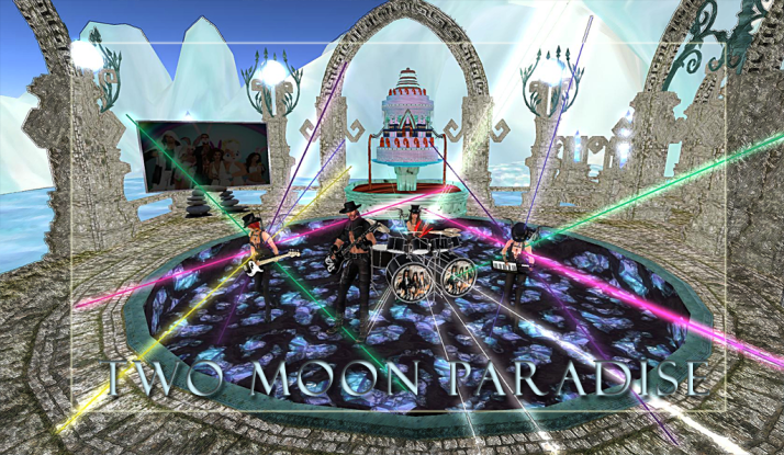 AM Quar and Max Kleene Saturdays at Two Moon Paradise