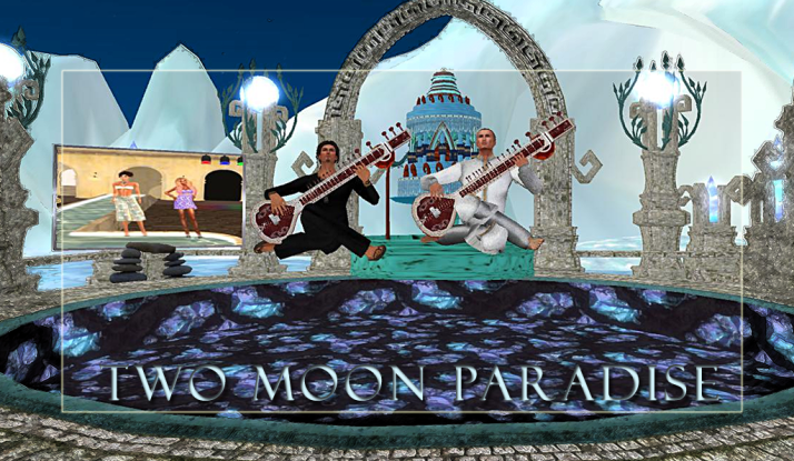Sundays Noon to 2 PM SLT Farrokh Vavoom 4-5 PM SLT Voodoo Shilton Two Moon Paradise