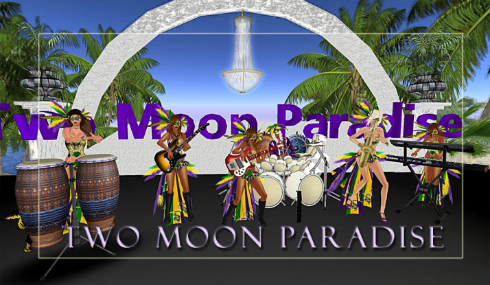 Farr and The BodBots Tuesday at Two Moon Paradise with Kellie and The Funky Feats