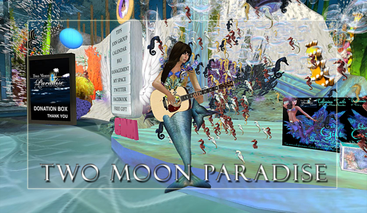 Gina Stella Mer Garden Tuesdays and the Farr and the Robots plus The Funky Feats at Two Moon Paradise