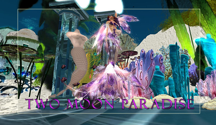 Join us in the Mer Garden at Two Moon Paradise on Tuesdays and Wednesdays