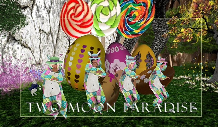 Easter is coming, get your bunny on at Two Moon Paradise
