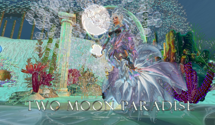 Mer Folk welcome 24/7 at Two Moon Paradise