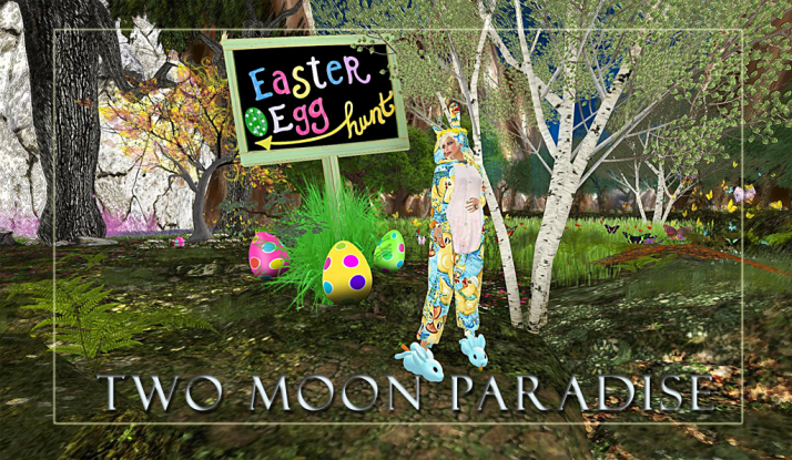 Easter events~ The beginning of our week long Easter Egg Hunt starts today.