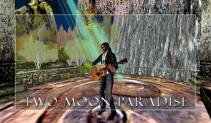 Dance with DJ Bar starting at 2 PM SLT then listen to Mark Allan Jensen Mondays at Two Moon Paradise