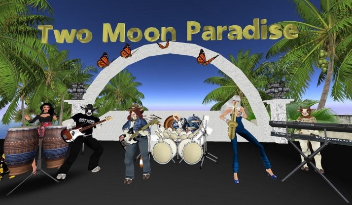 Join Farr and the Bots with The Funky Feats on Tuesdays at Two Moon Paradise