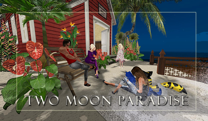 Fridays are for friends and relaxing at Two Moon Paradise check out the School House for information about various support groups