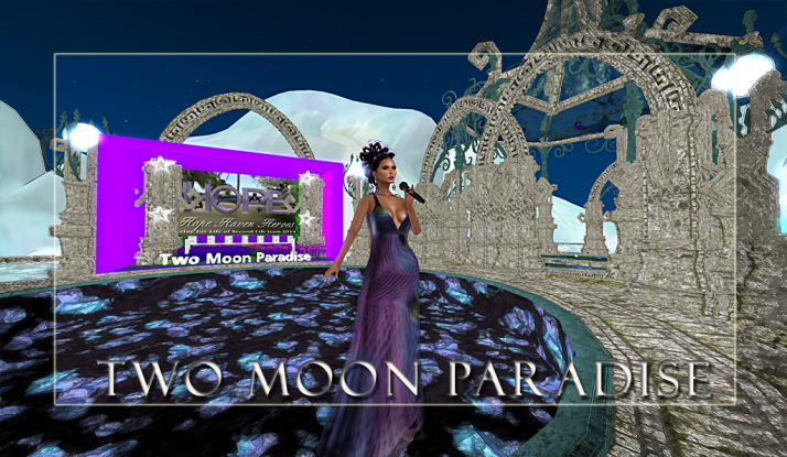Lovely Lisa Brune Mondays at 1 PM SLT followed by DJ Bar at Two Moon Paradise