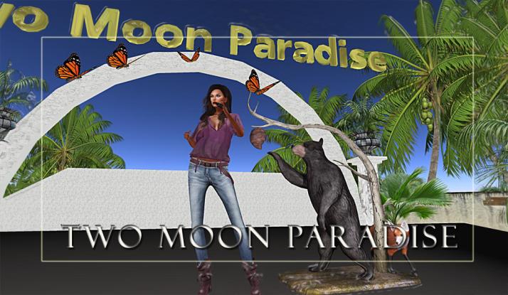 Lisa Brune and DJ Bar Mondays at Two Moon Paradise