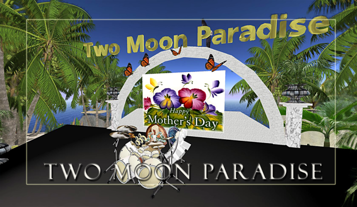 Sunday Dance Party 1 PM SLT with Farrokh Vavoom at Two Moon Paradise