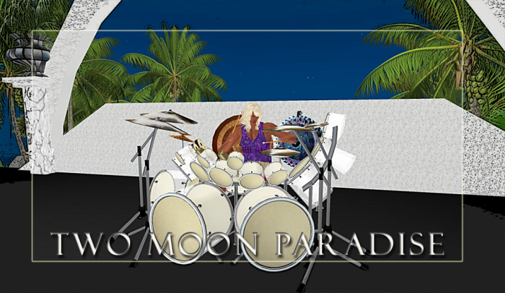 Farrokh Vavoom Sundays at Two Moon Paradise from 1-3 PM SLT