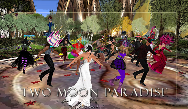 Thursday Themed Contests at Two Moon Paradise ~ above, Best in Wild and Crazy Hats!