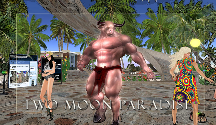 Relaxing Fridays at Two Moon Paradise where all are welcome to come and show off their dance moves:)