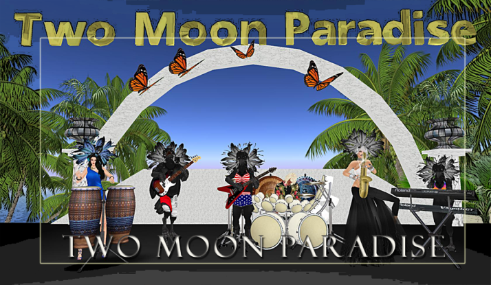 Farr, The Funky Feats and The Bots then Gina Stella on Tuesdays at Two Moon Paradise