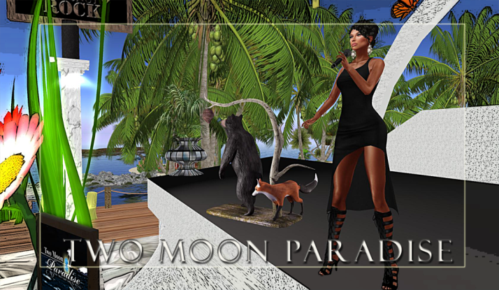 Lisa Brune, Mer Contest and Samm Qendra on Wednesdays at Two Moon Paradise