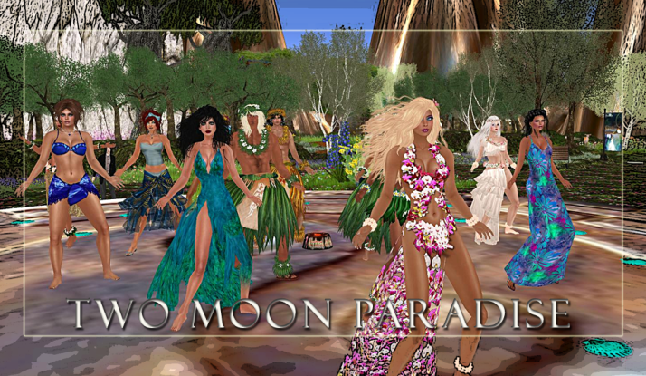Themed Contests at Two Moon Paradise both Mer and Landwalkers ~ Come join the fun!