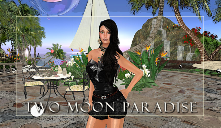 Fridays at Two Moon Paradise are for relaxing and exploring the many peaceful areas