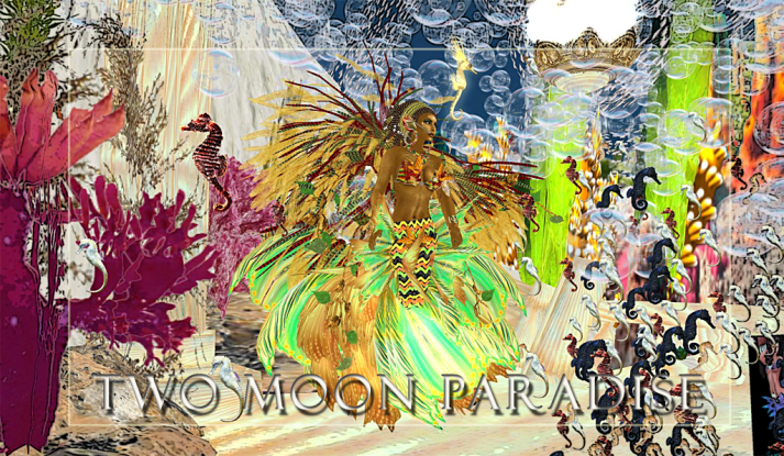 Join us at Two Moon Paradise Mer Garden for live music and contests