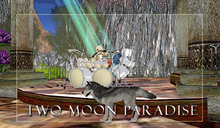 Sunday ~ Farrokh Vavoom and Voodoo Shilton at Two Moon Paradise