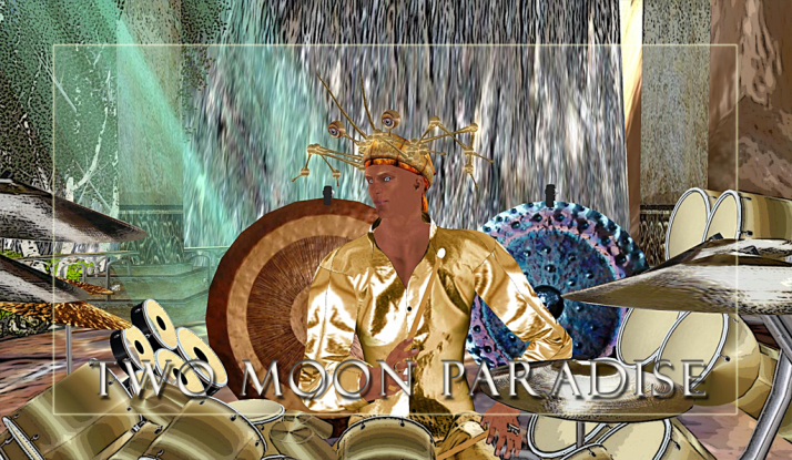Sunday ~ Farrokh Vavoom at Two Moon Paradise