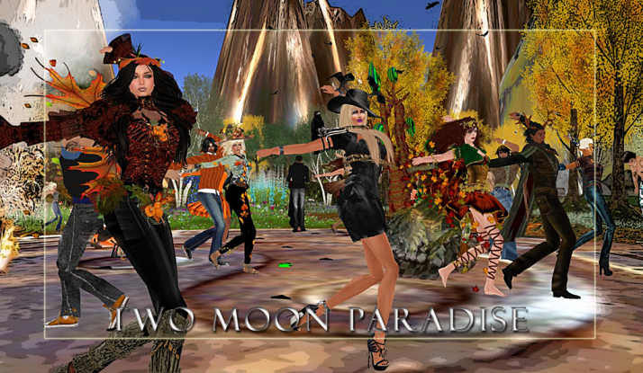 Two Moon Paradise has two weekly contest both mer and landwalkers please come join in the fun:)