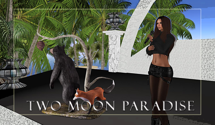 Join us at Two Moon Paradise for live music events and more Featuring Lisa Brune, CeCi Dover, Farrokh Vavoom, Gina Stella, Samm Qendra, AMForte Clarity, AM Quar, Max Kleene, Voodoo Shilton, Shay Sunnyside and The Funky Feats