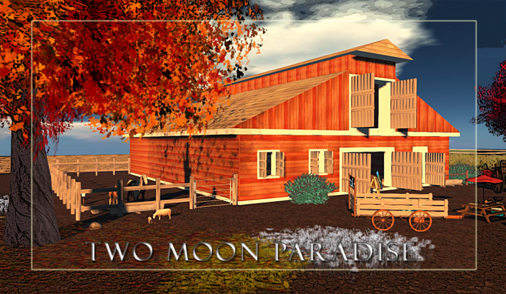 The Barn at Two Moon Paradise brings a unique environment that will surely fill you with Autumn cheer. Enjoy horseback riding, live music and dancing in the Barn, or just sit by the maple trees and relax with friends.